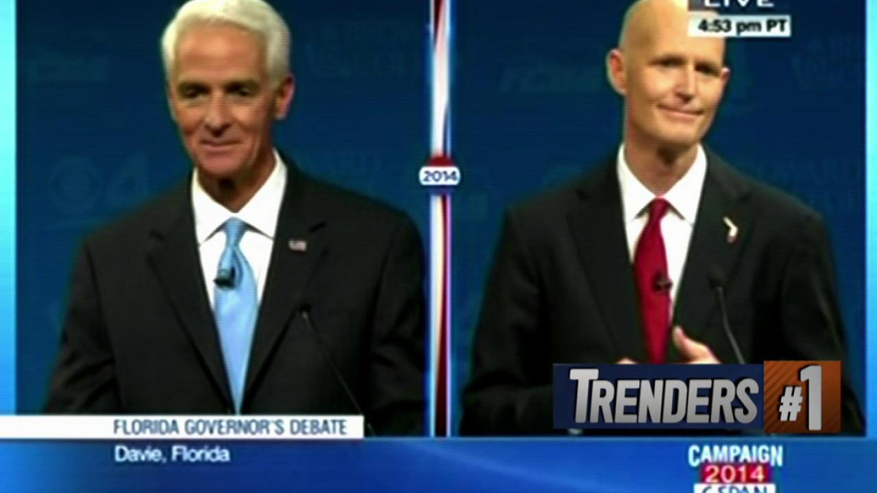 Rick Scott delays debate over Crist's fan