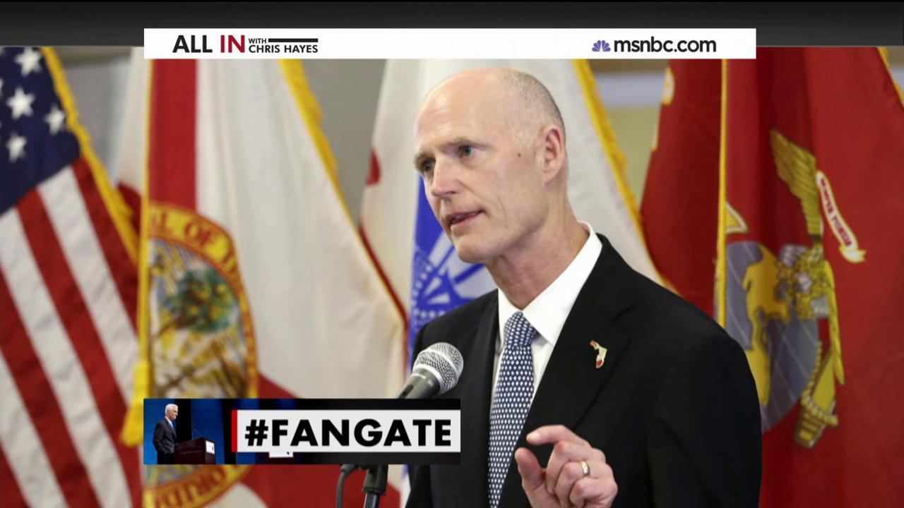 'Fan-gate' highlights crazy race for Governor