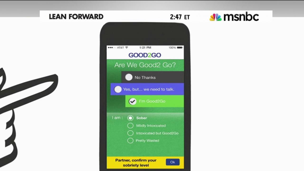 An app to reduce sexual assaults?