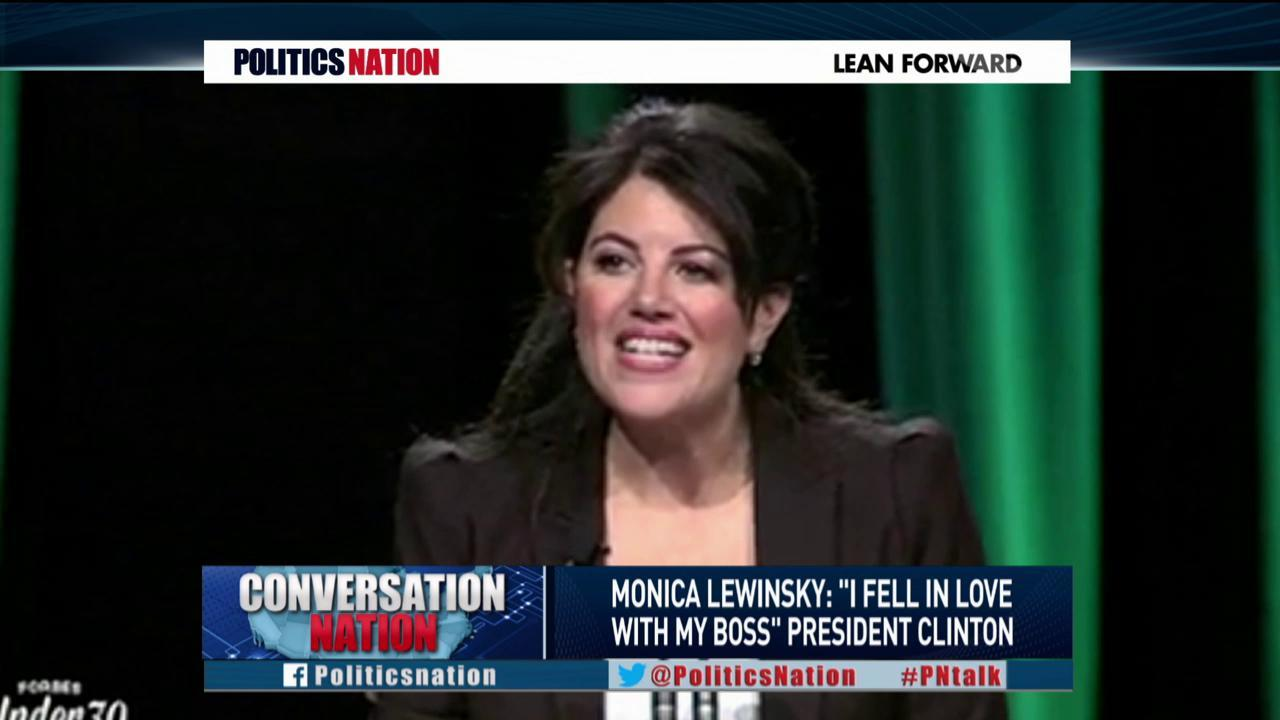Lewinsky: 'I fell in love with my boss'