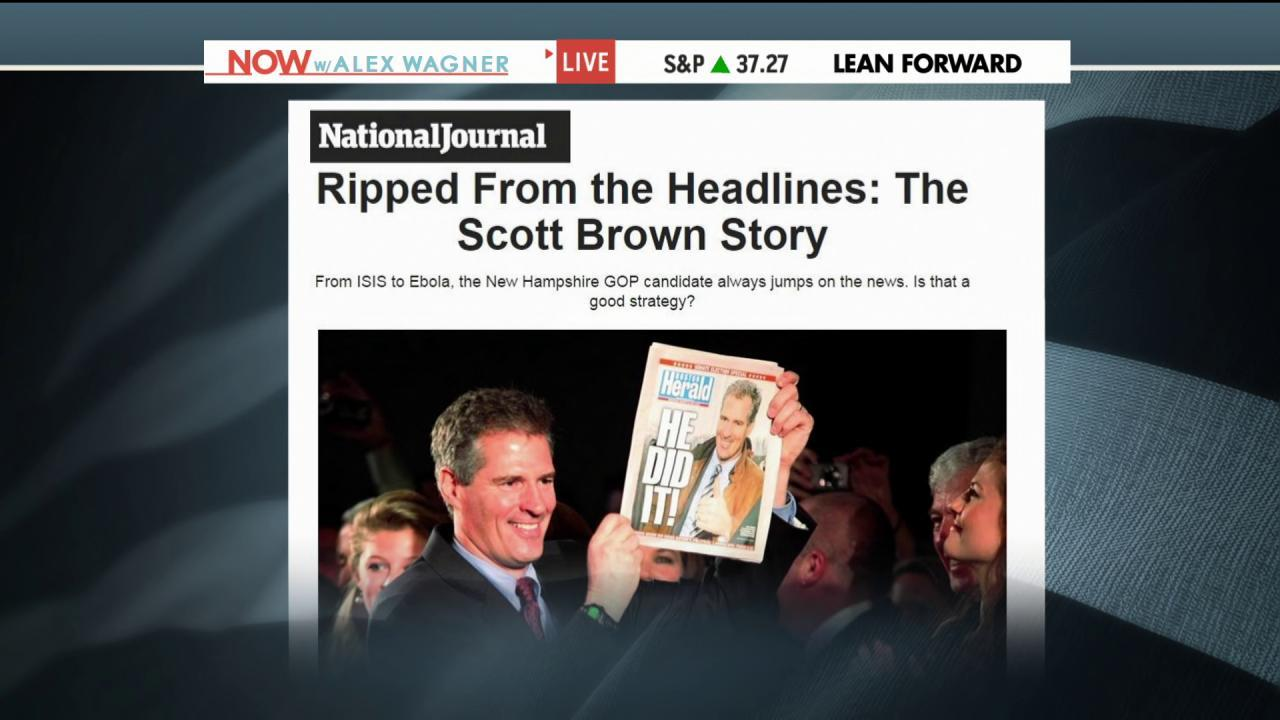 Scott Brown aims to rebrand himself