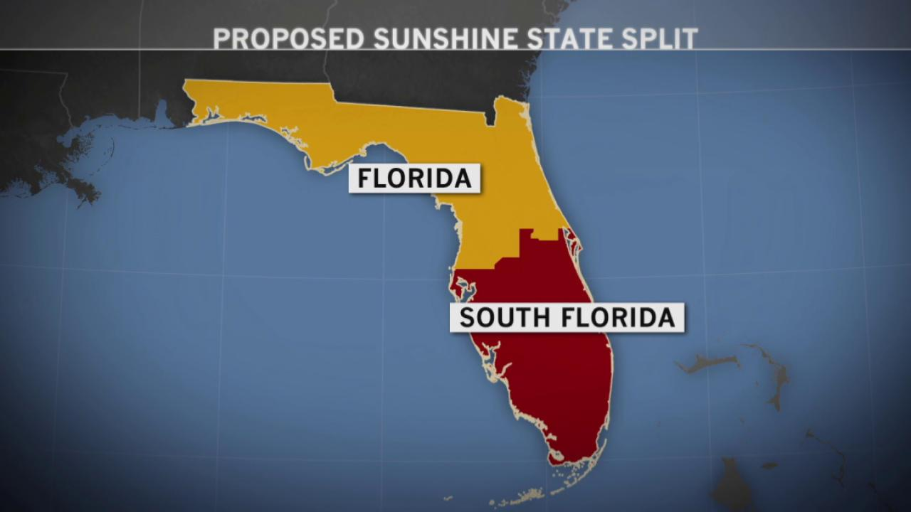 Florida wants to secede from Florida