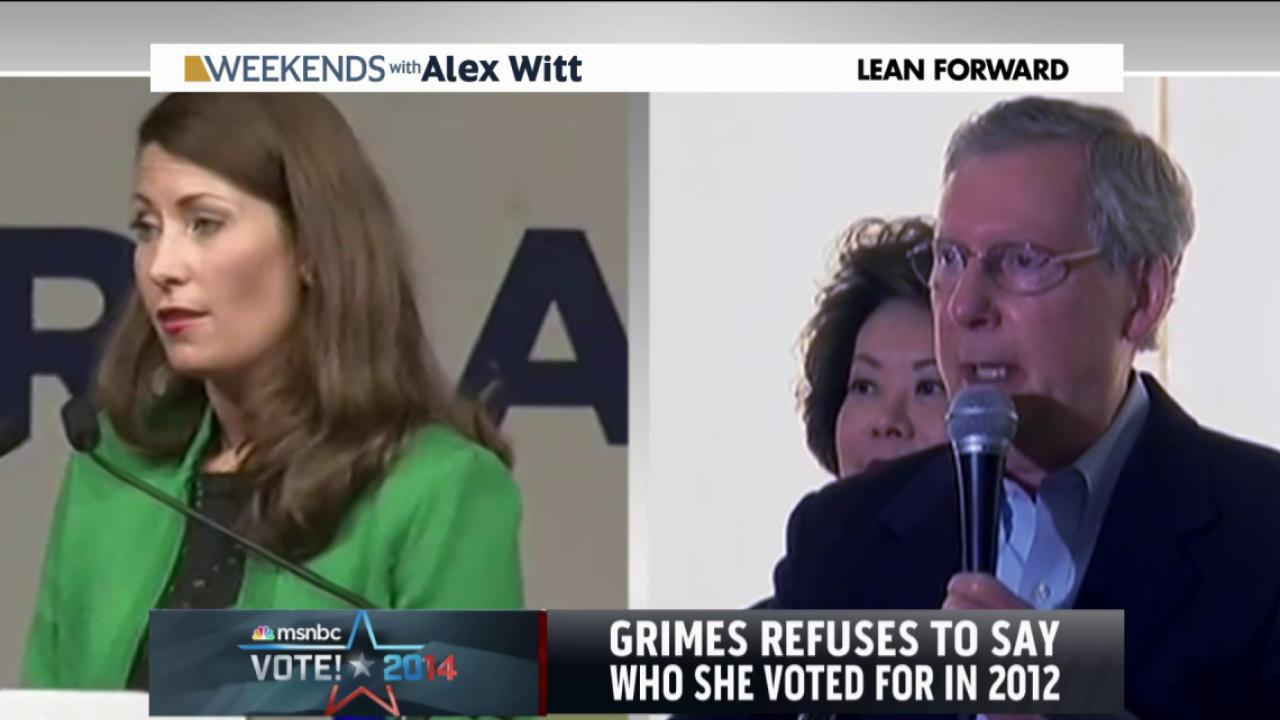 McConnell, Grimes revive KY campaigns