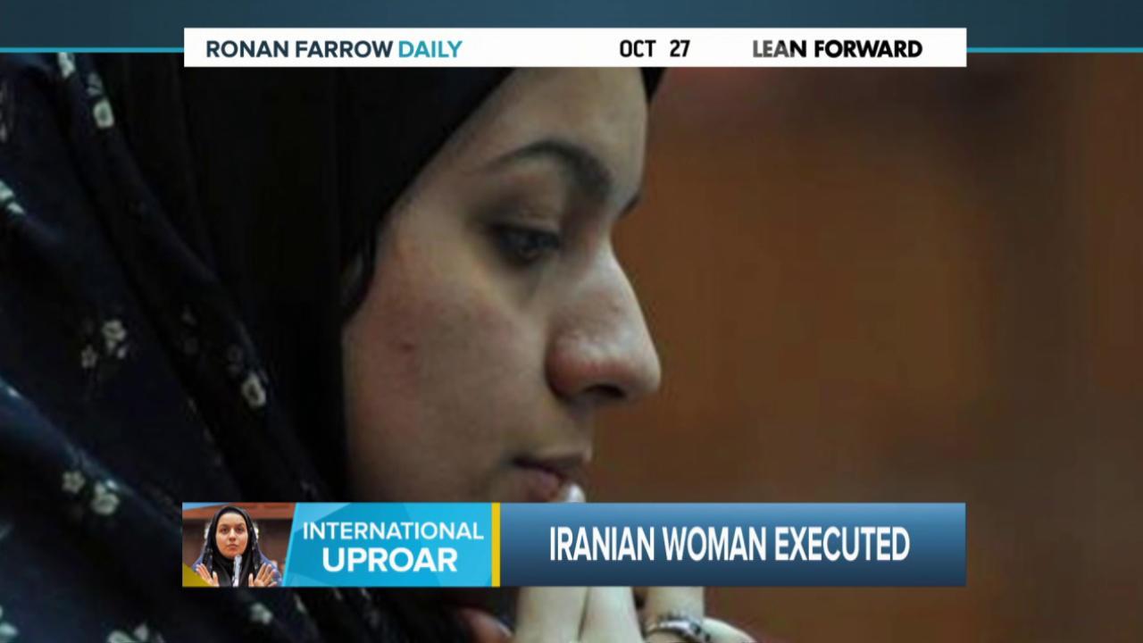 The execution of Reyhaneh Jabbari