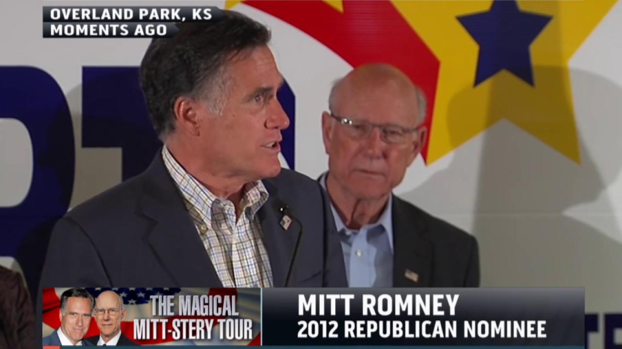 Can Romney help Kansas senator keep his seat?