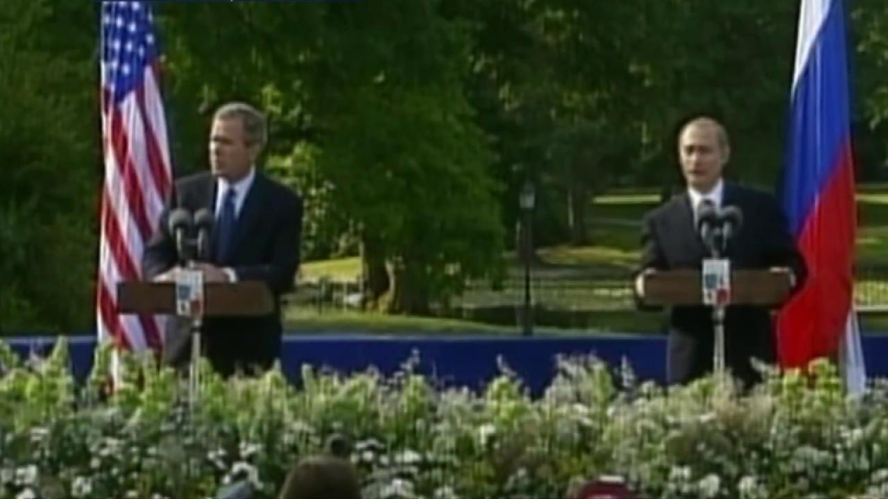 Bush sees into Putin's soul
