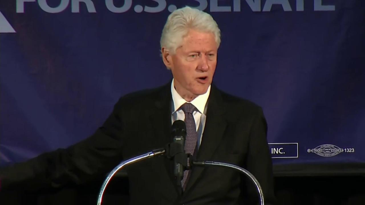 Can Bill Clinton help Kay Hagan hold on?