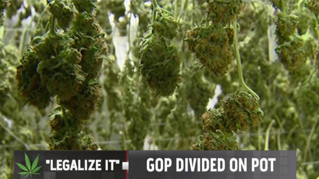 GOP pushback on marijuana legalization