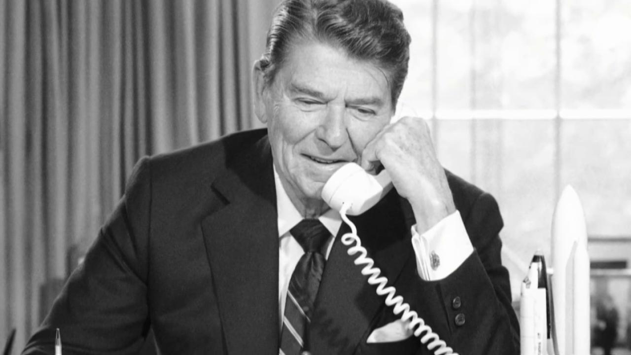 Secret Reagan tapes reveal delicate...
