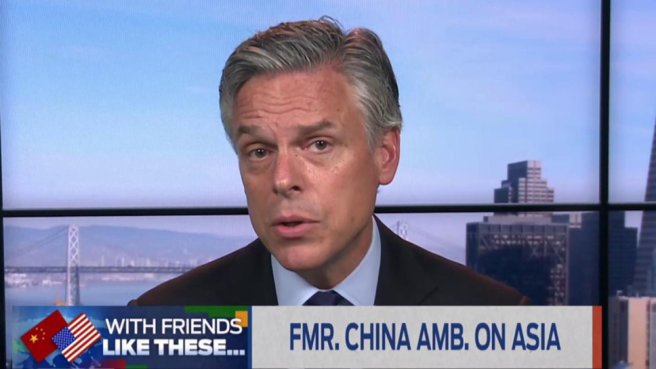 Fmr. US ambassador to China talks climate