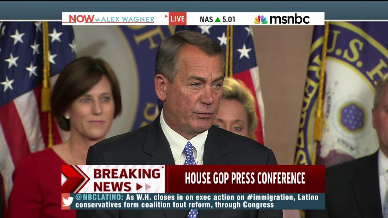 House GOP vows to fight Obama on immigration