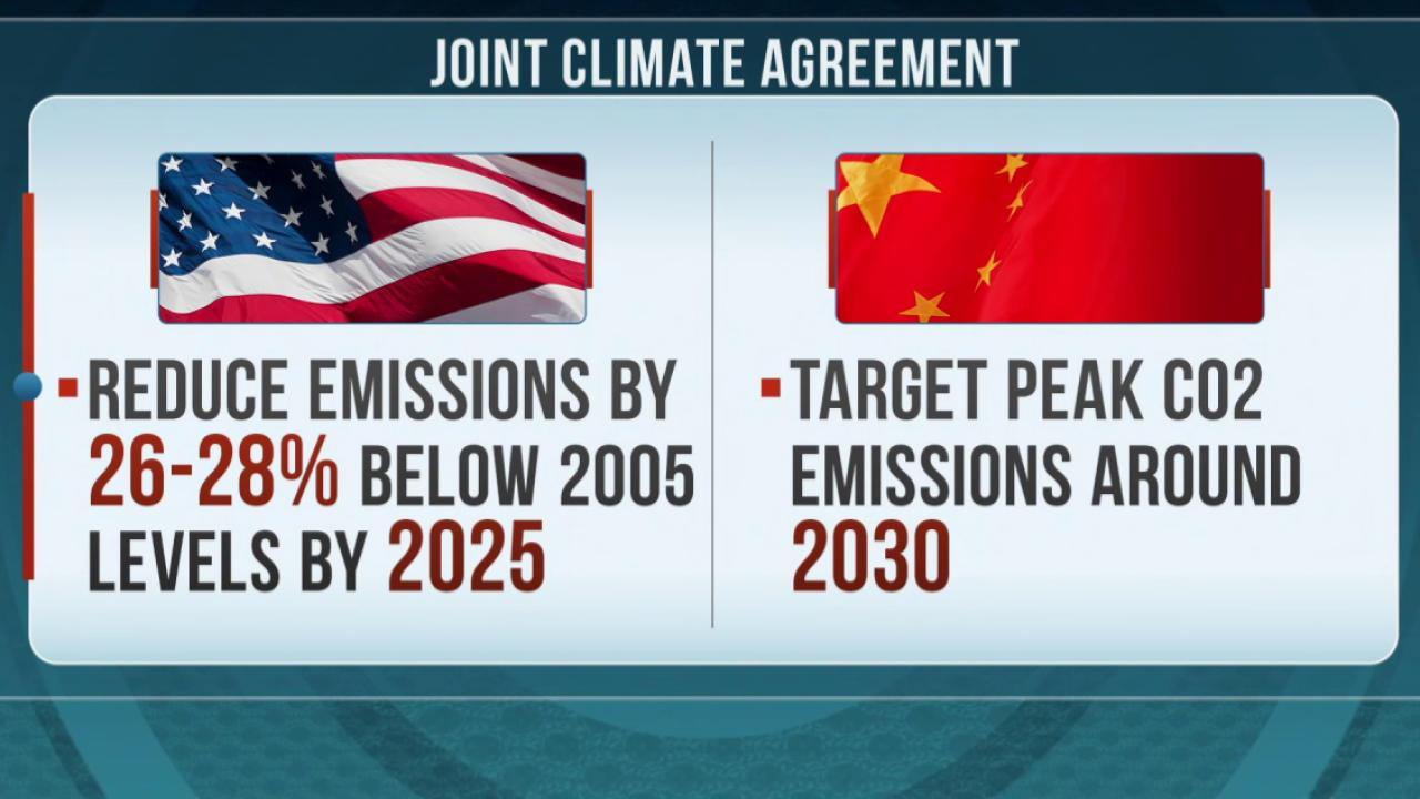 US-China climate deal a turning point?