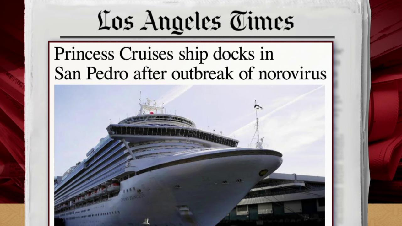 Cruise Ship Docked Due To Virus - Cruise ship norovirus