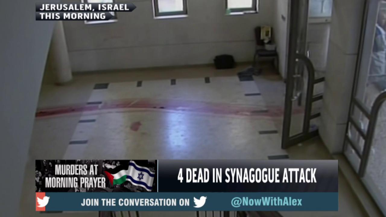 Hamas praises synagogue attack