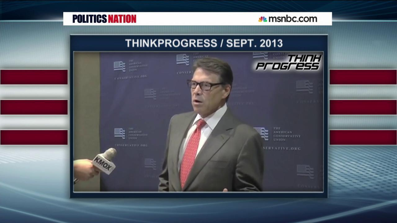 Rick Perry's other 'oops' moment