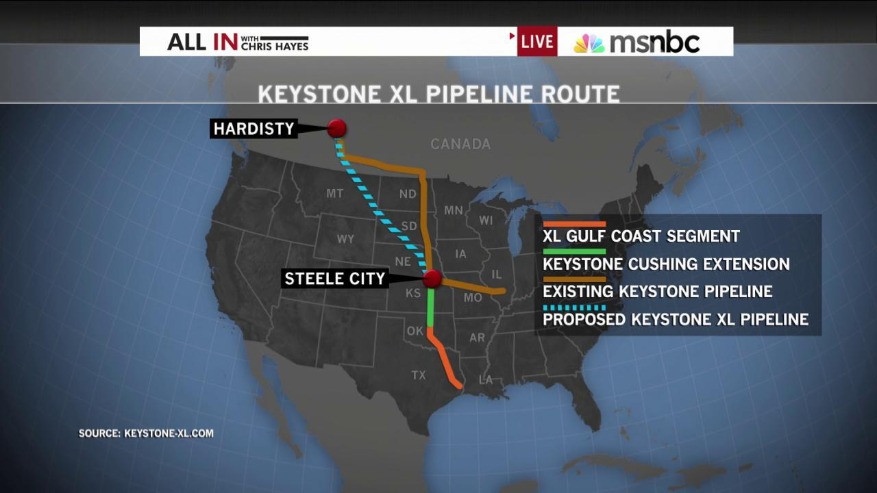Keystone XL pipeline bill falls one vote short
