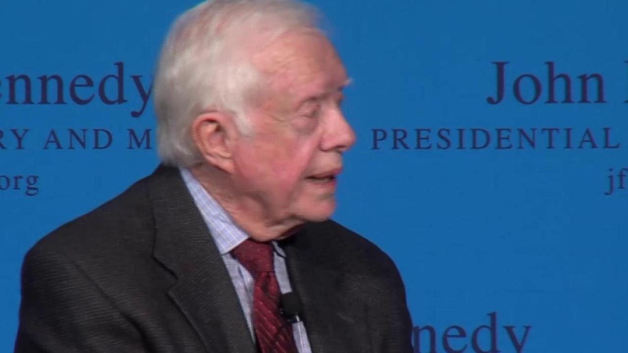 Pres. Carter on Immigration, Keystone & NSA