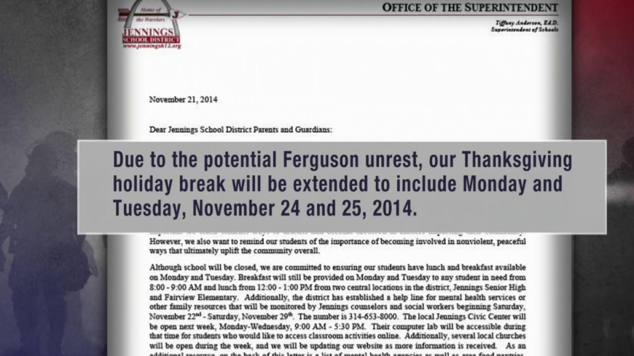 Is the prep in Ferguson over-preparation?
