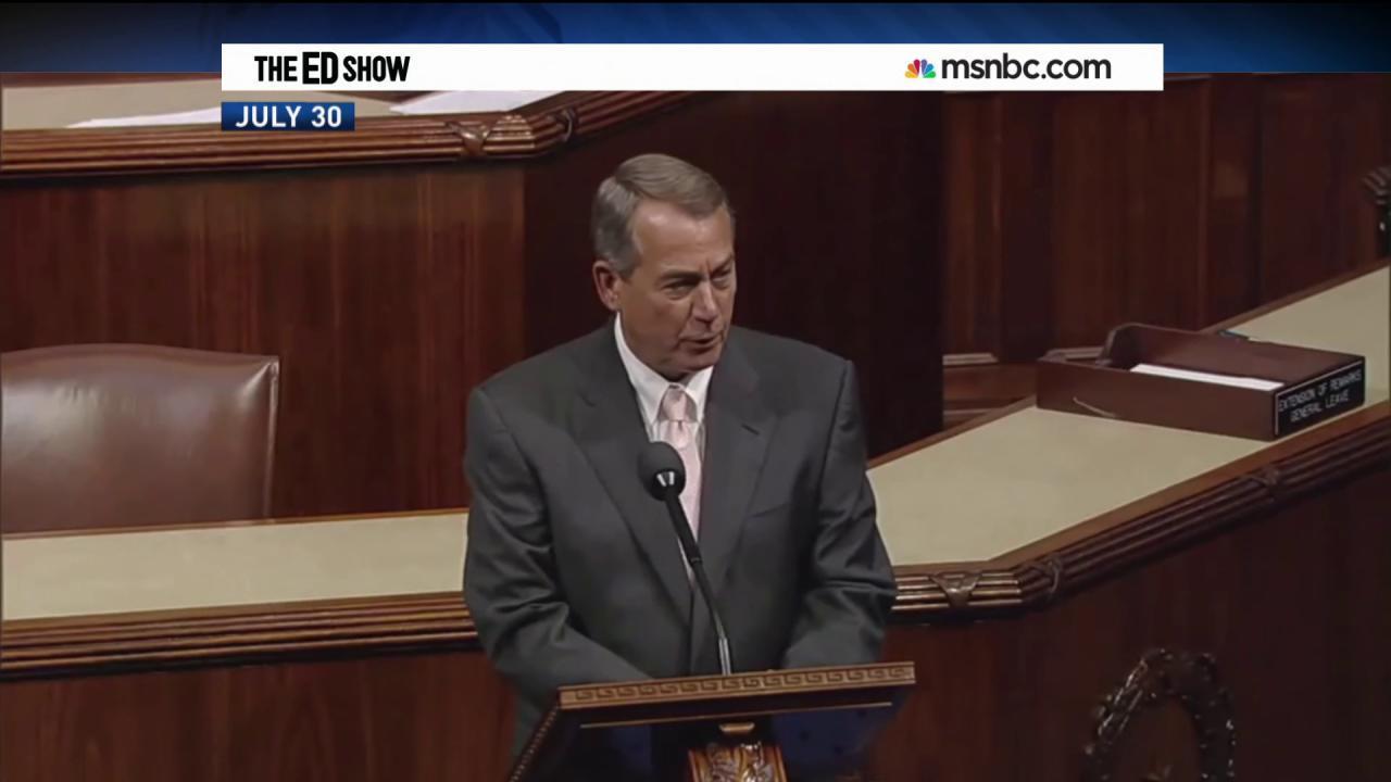 Boehner goes forward with Obama lawsuit
