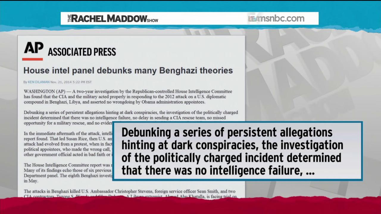 Benghazi not a scandal  Shhhhhhhh!
