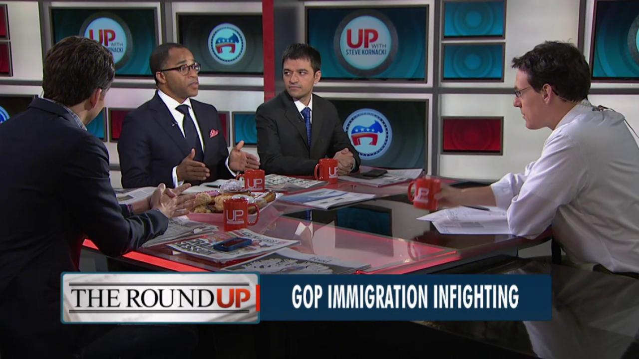 GOP infighting over immigration
