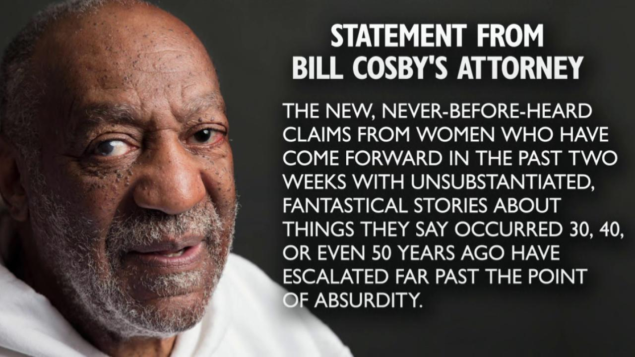 Allegations against Cosby make a resurgence