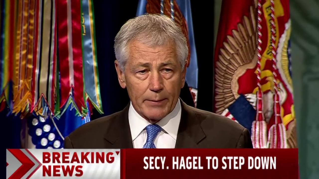 Chuck Hagel to step down as Defense Secretary
