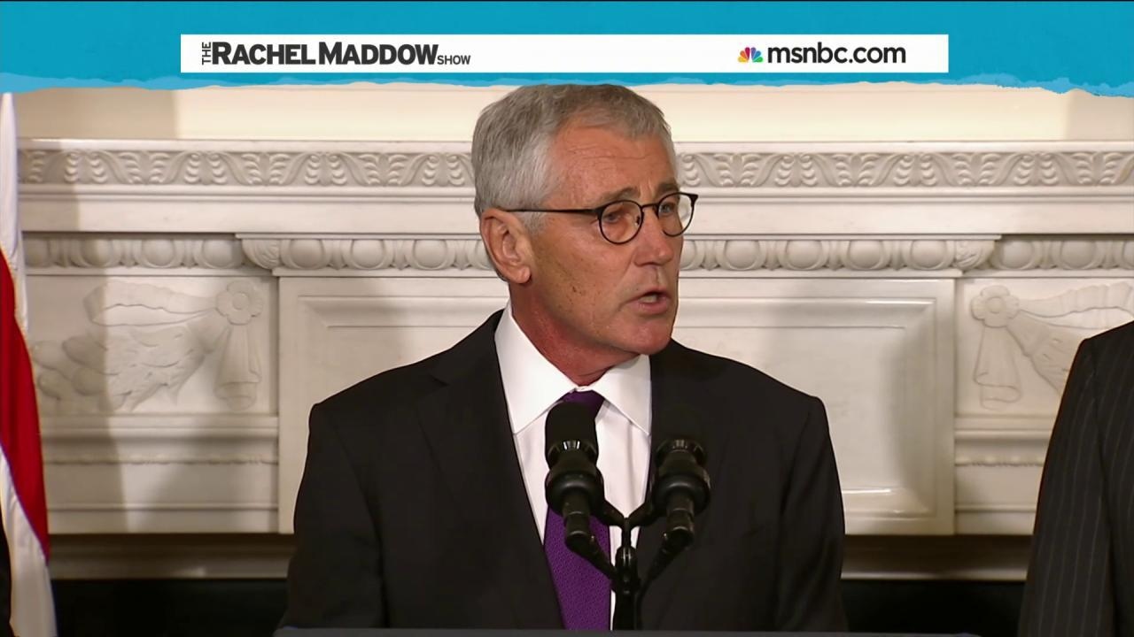 Conflict with White House eyed in Hagel exit