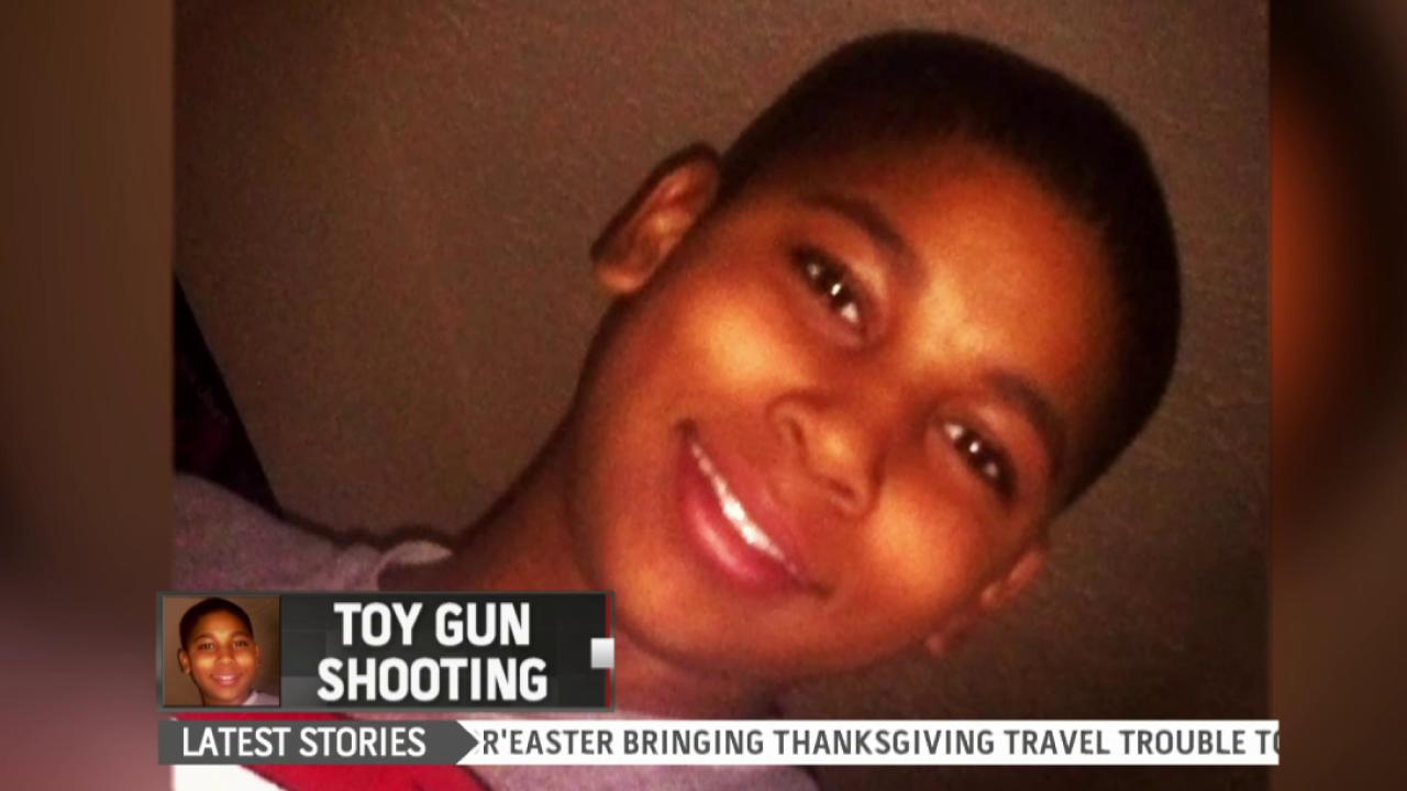 Police release video of Tamir Rice shooting