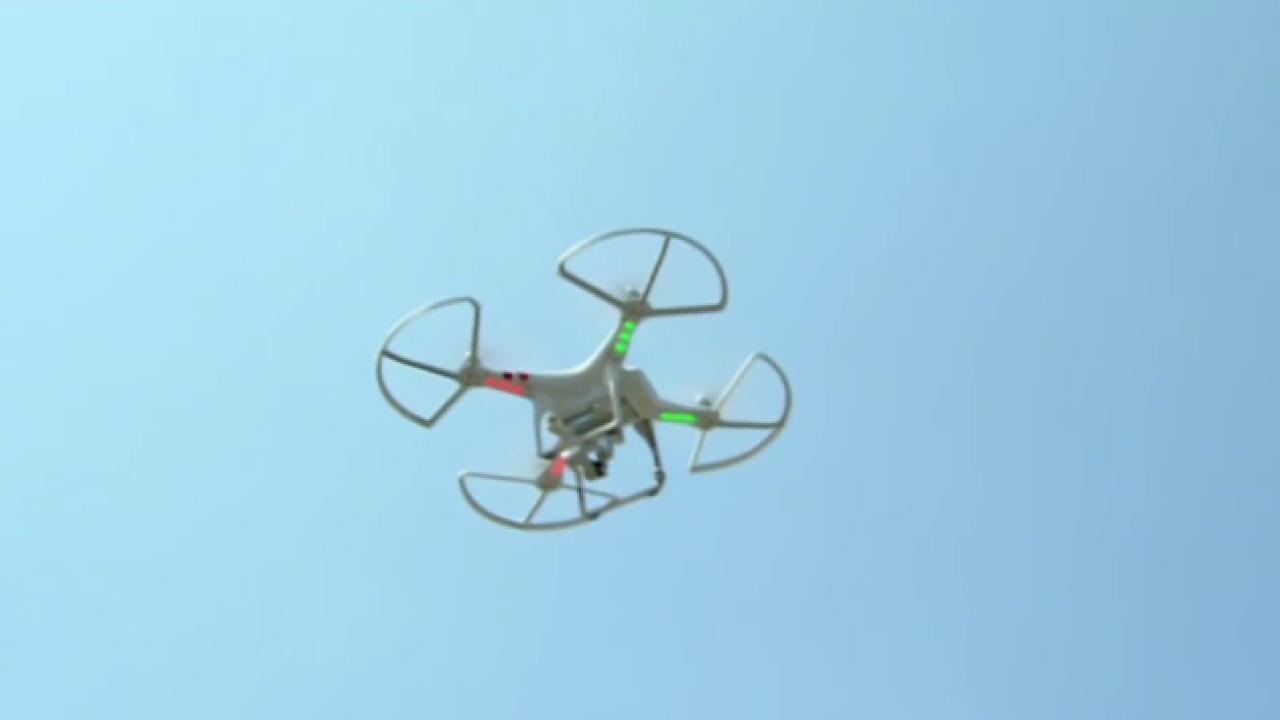 New report shows a rise in drone close calls