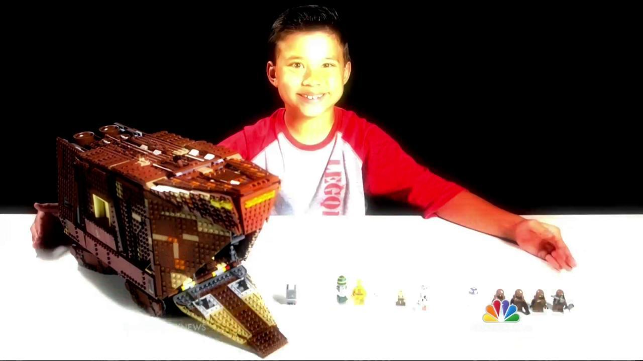 8-Year-Old Toy Tester Becomes YouTube Sensation