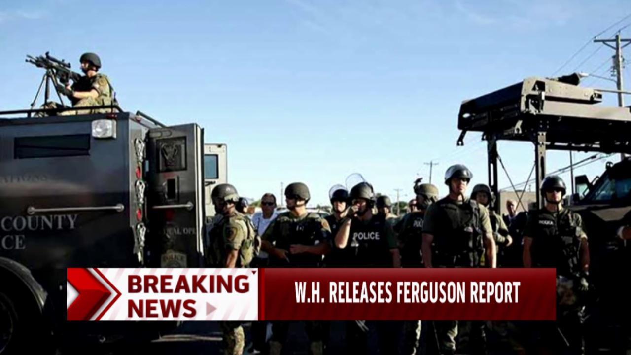White House releases Ferguson report