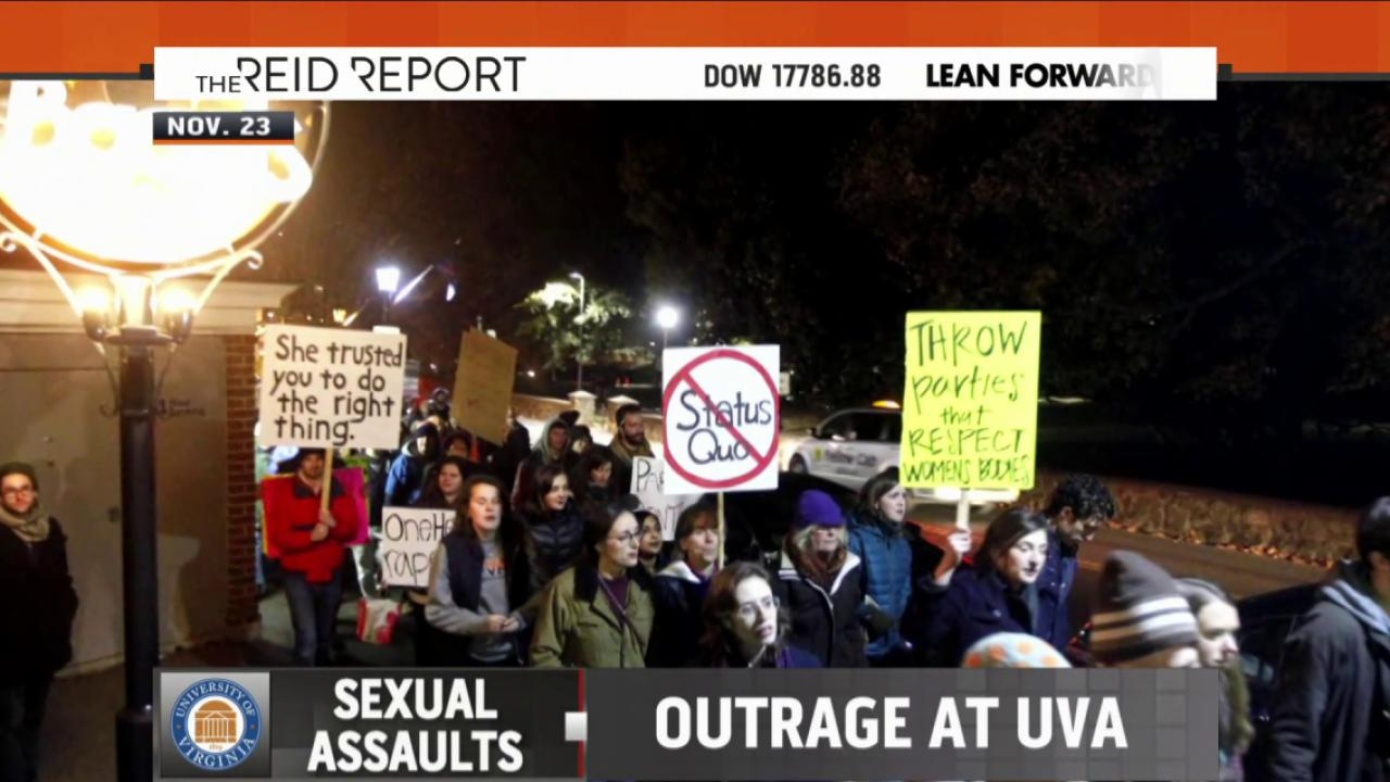 UVA faces scrutiny over rape allegations