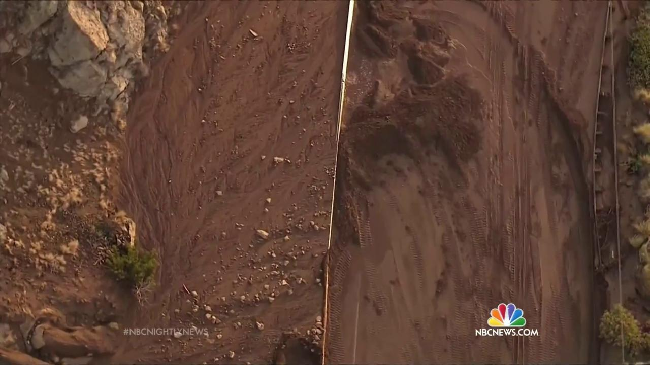 California's First Significant Rainfall in Months Threatens Mudslides