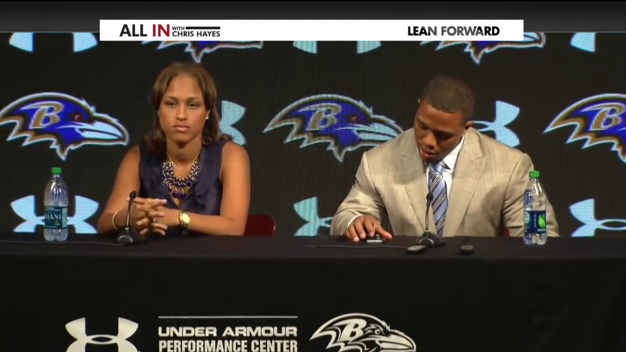 Janay Rice still wants Ray to play