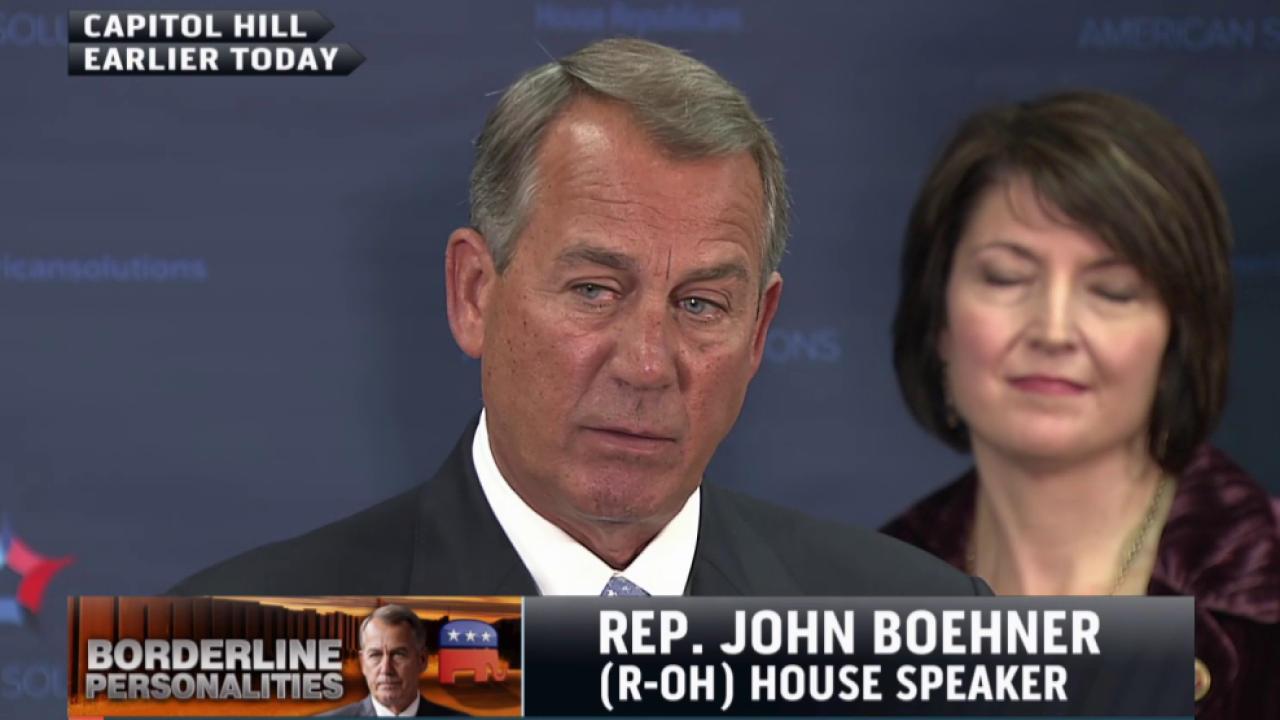 Can Boehner stop a government shutdown?