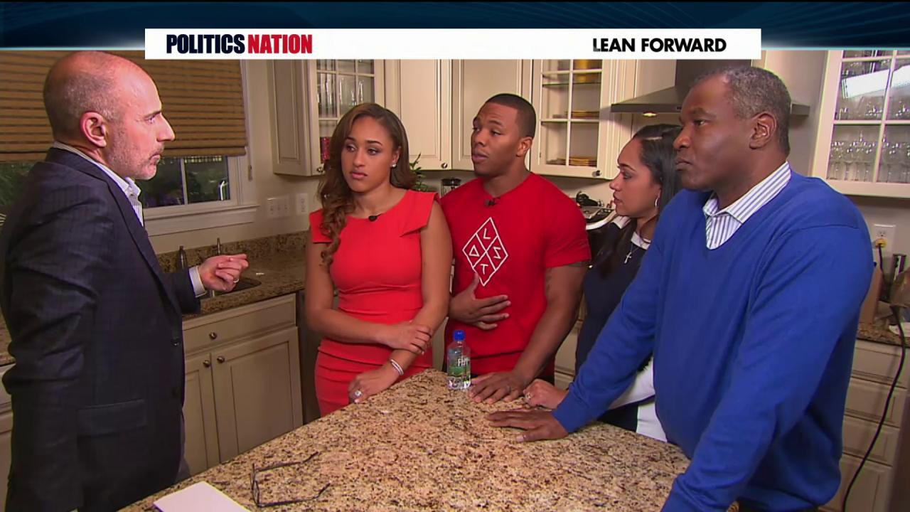 Ray Rice speaks out on domestic violence