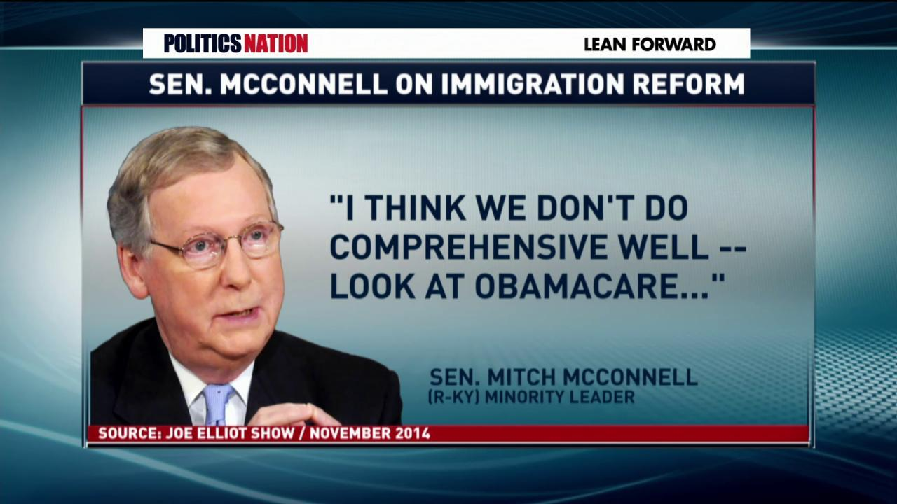 Sen. McConnell's gaffe on immigration
