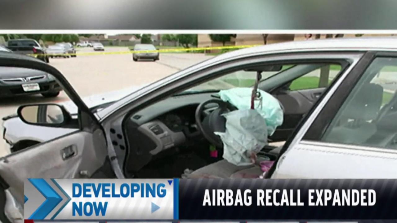 Honda to expand airbag recall