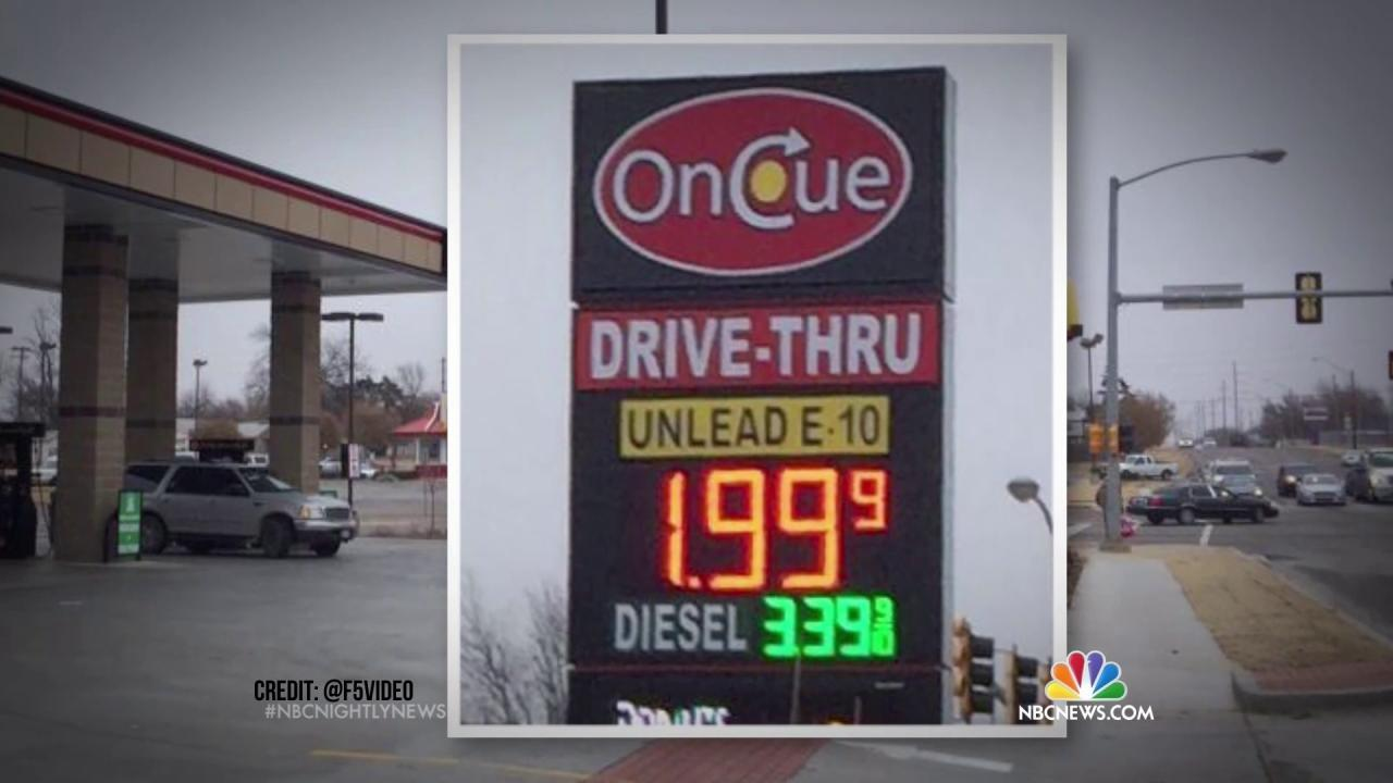 Oil's Price Is Plunging, So Why Isn't Gas Even Cheaper?