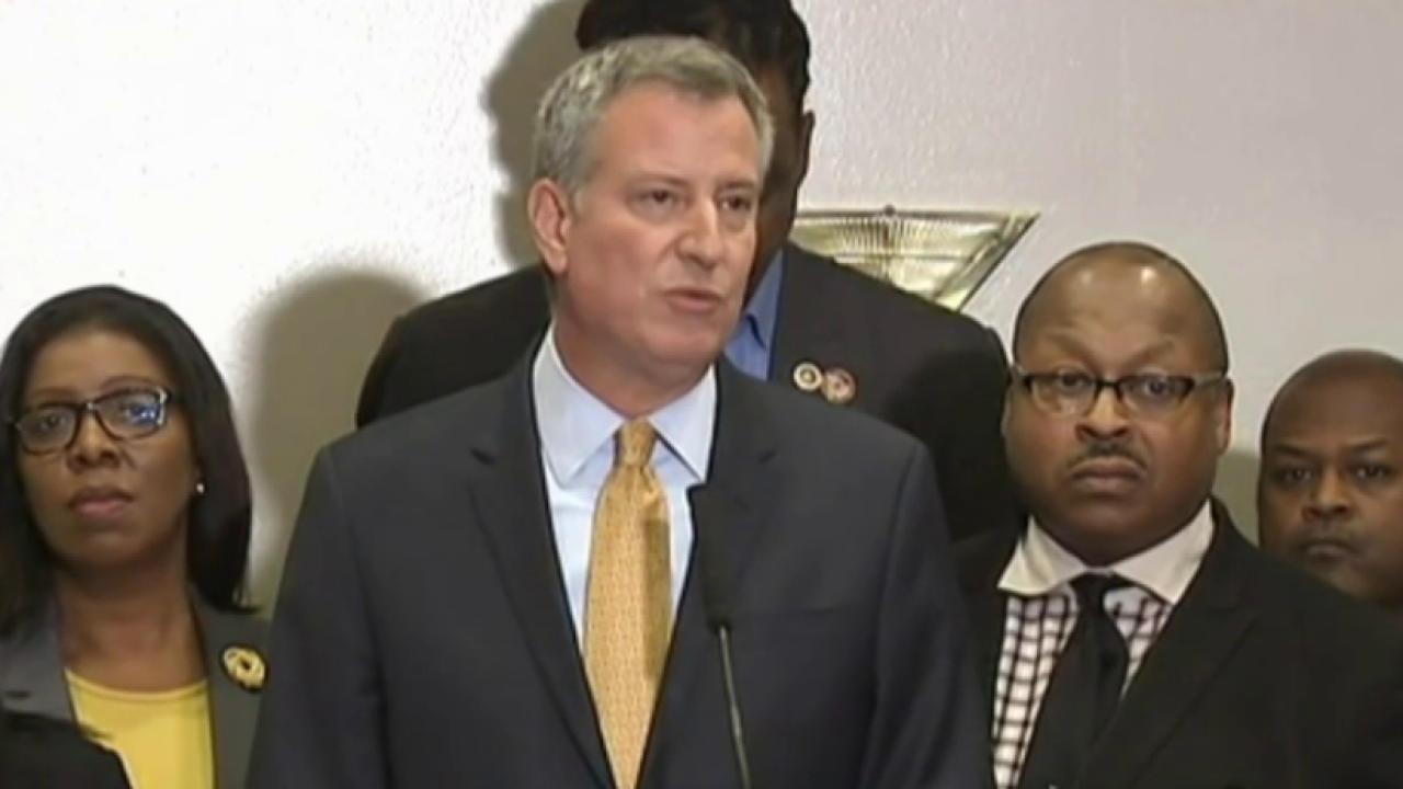 NYC mayor feels personal tie to Garner case