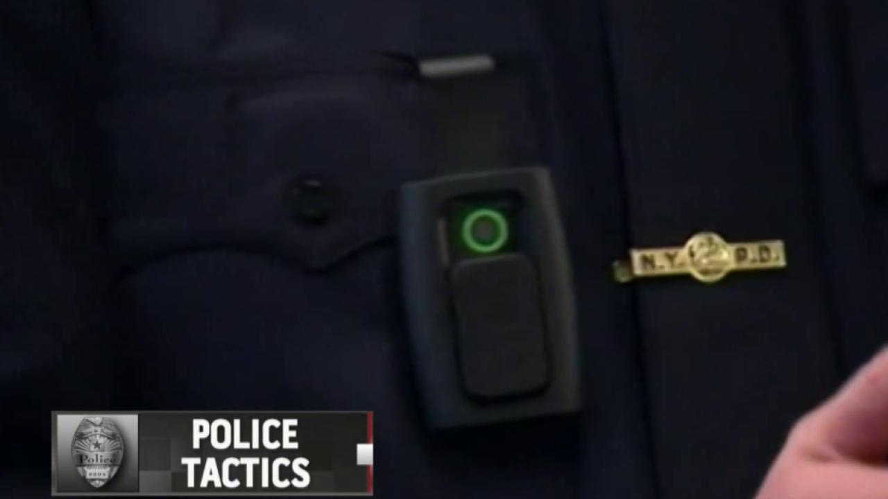 NYC officers wear body cameras