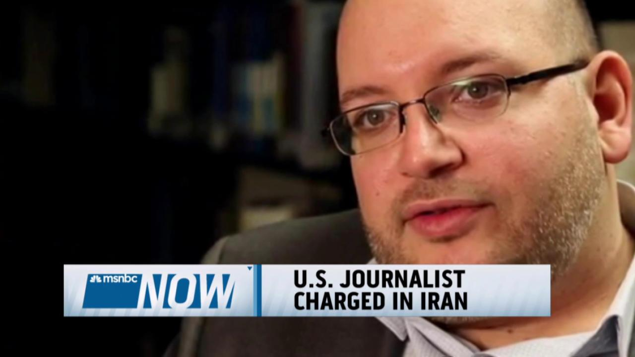 US journalist charged in Iran