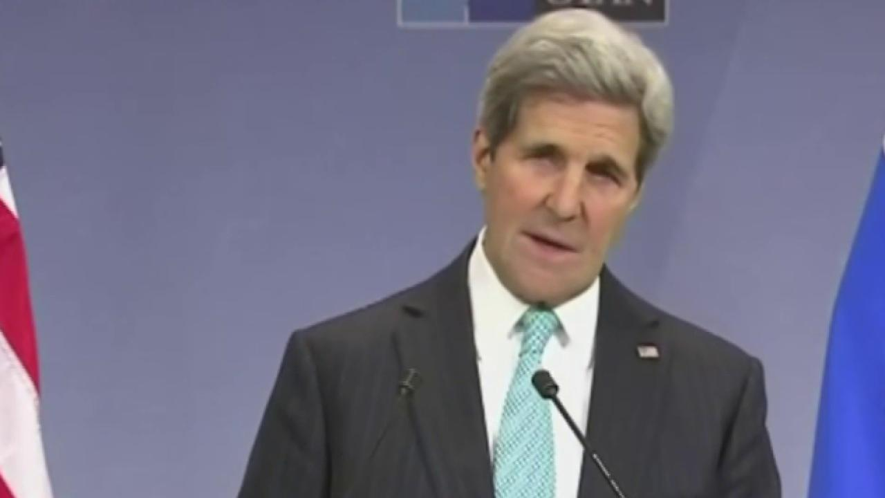 Kerry faces questions over war on ISIS