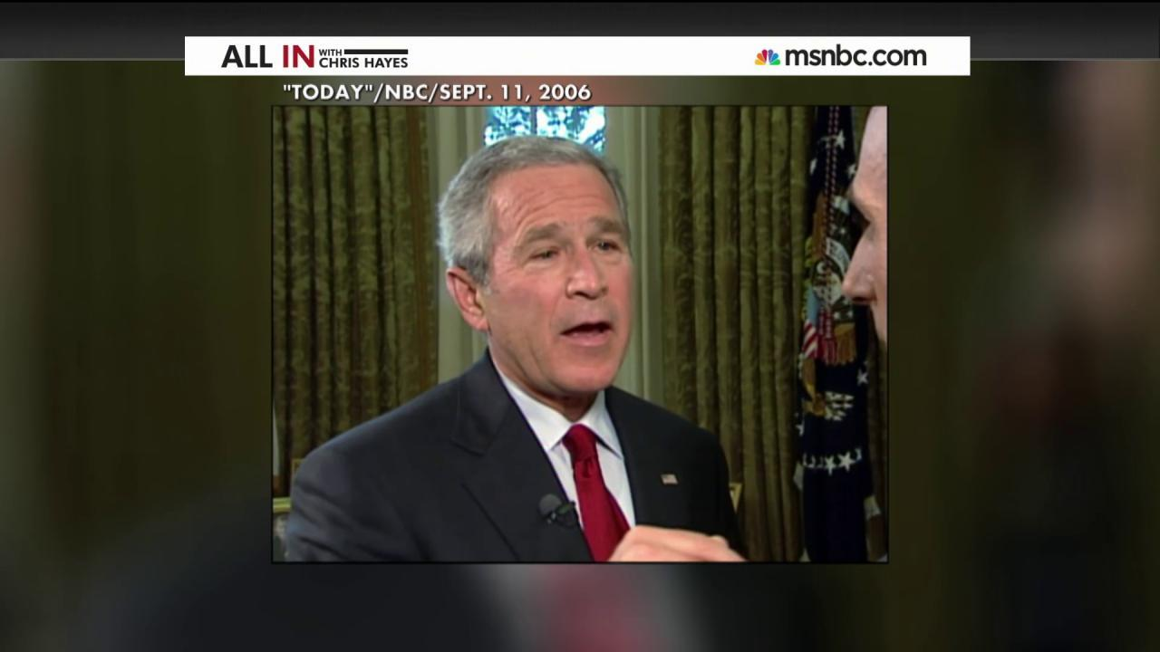 When George W. Bush defended torture