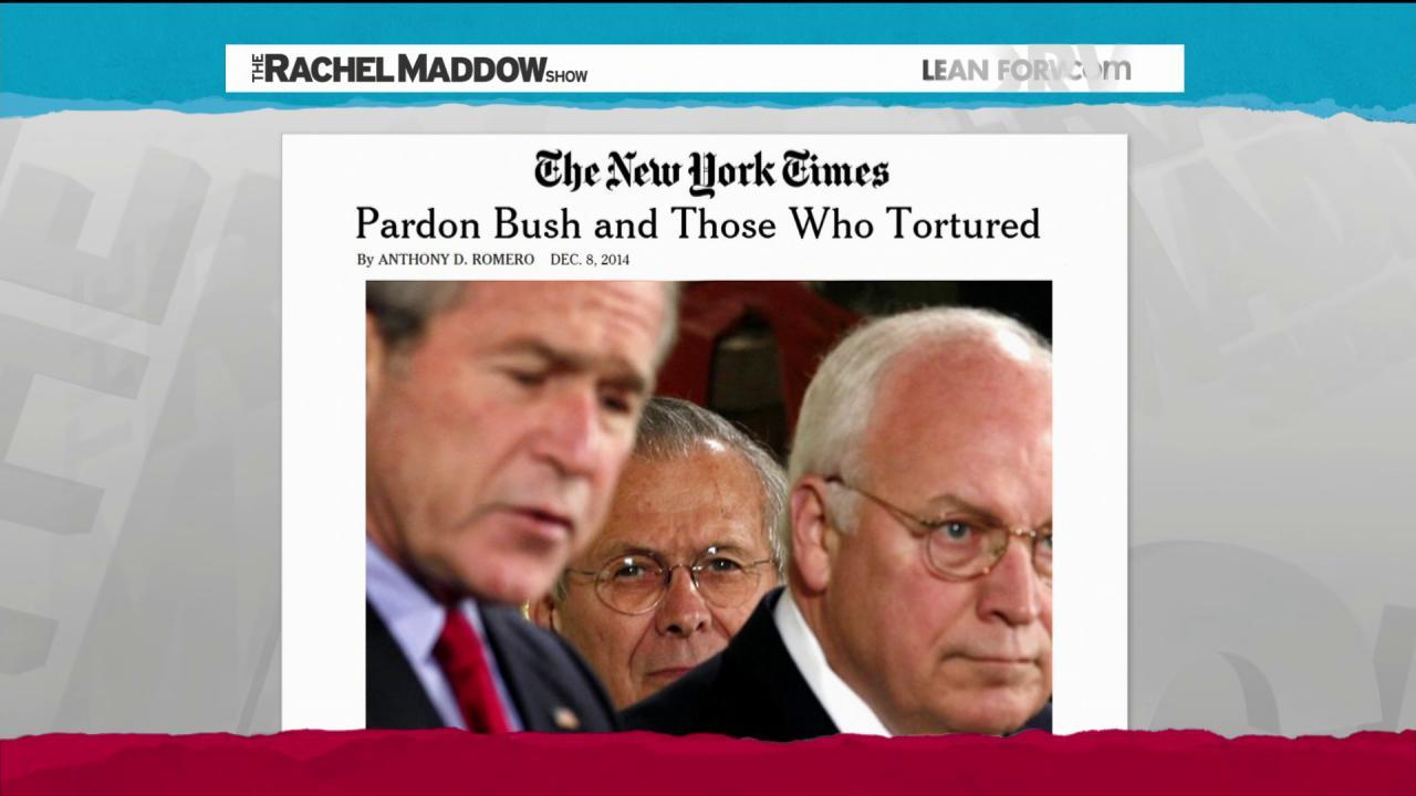 Pardons would label torturers as criminals