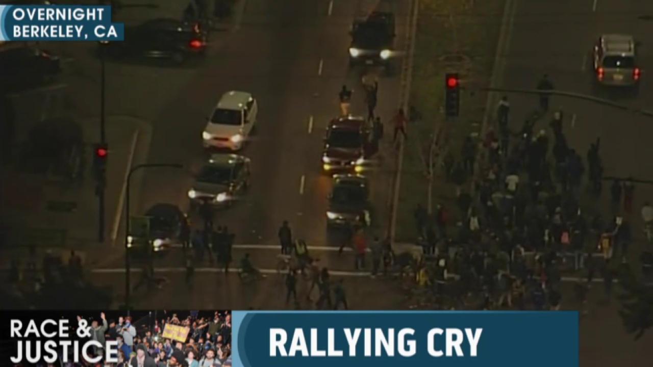 Protesters halt Berkeley traffic
