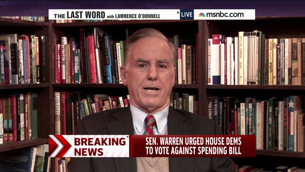 Howard Dean: 'This is a mistake to do this'