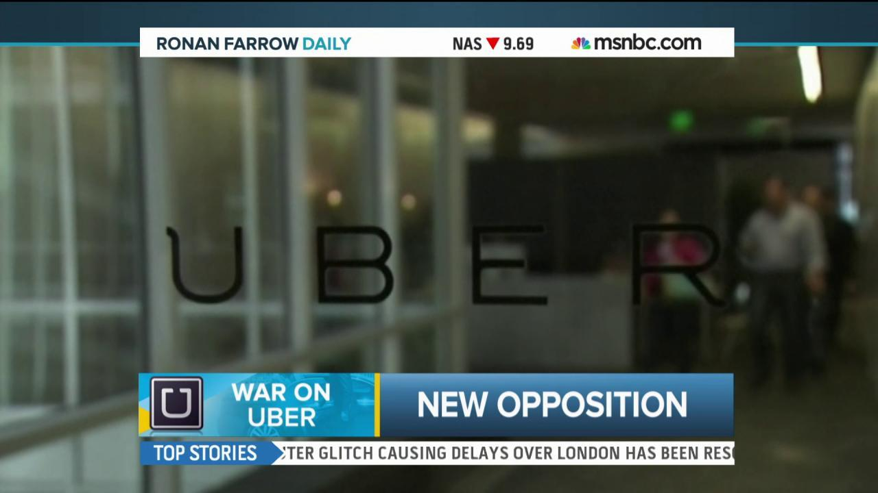 The war on Uber