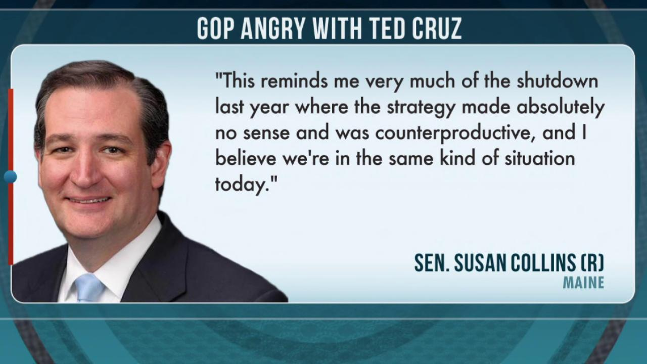 GOP angry with Ted Cruz over immigration vote
